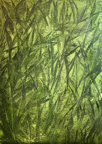 Arvydas Uziela – Elements – Green – uziela-art.co.uk